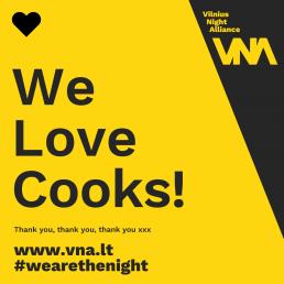 We love cooks